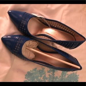 Royal blue Christian Siriano for Payless pumps